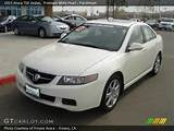 2005 Acura Tsx Sedan In Premium White Pearl Click To See Large Photo