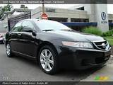 2005 Acura Tsx Sedan In Nighthawk Black Pearl Click To See Large