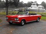 1963 Chevrolet Corvair Monza Spyder Convertible On 2040 Cars