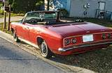 1965 Red Corvair Monza Convertible On 2040cars
