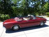 Corvair Convertible Side View Right Side