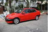 Description 1995 Alfa Romeo 146 1 7 16v
