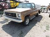 1979 Chevy K20 4x4 Pickup 350 Manual Always Shed Kept 109000 Miles