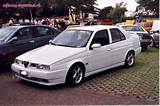The Alfa Romeo 155 Was A Mid Size Sedan Automobile Produced By The