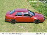 View Of Alfa Romeo 155 1 6 T Spark Photos Video Features And Tuning