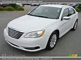 2013 Chrysler 200 Limited Sedan In Bright White Click To See Large