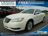 2011 Chrysler 200 Limited Convertible In Bright White Click To See