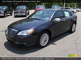 2011 Chrysler 200 Limited In Blackberry Pearl Click To See Large