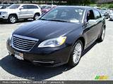 2011 Chrysler 200 Limited In Brilliant Black Crystal Pearl Click To
