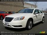 Stone White 2011 Chrysler 200 Limited With Black Light Frost Beige