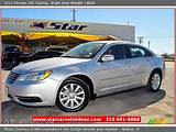 2011 Chrysler 200 Touring In Bright Silver Metallic Click To See