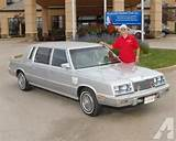 1984 Chrysler Executive Sedan For Sale In Troy Ohio Classified