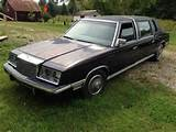 1984 Chrysler Limo Mi 1 900 For Sale On Car And Classic Uk
