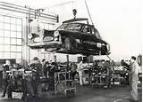 Alfa Romeo 1900 Berlina Assembly At The Portello Factory