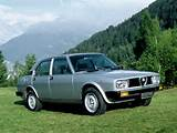 Alfa Romeo Alfetta 2 0 Turbo Diesel 1979 1981 Wallpaper